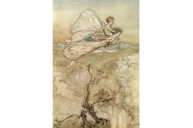 Illustration by Arthur Rackham to the play 'A Midsummer Night's Dream' by William Shakespeare. (Photo by Culture Club/Getty Images)