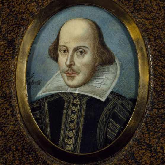 Portrait of William Shakespeare (1564-1616), ca 1865