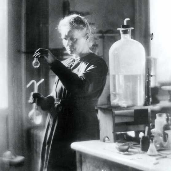Marie Curie remains the only person to scoop two Nobel Prizes in different scientific disciplines. She was a woman who refused to let her gender- or her private life – interfere with her career.(Photo by Hulton Archive/Getty Images)