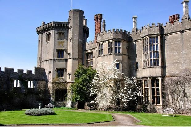 Thornbury Castle. (Photo by Greg Balfour Evans/Alamy Stock Photo)