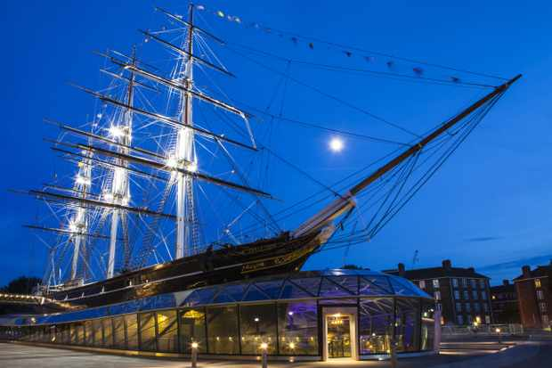 The Cutty Sark, Greenwich, London. (Photo by Dreamstime)