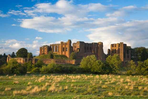 Kenilworth Castle in Warwickshire. (Photo by Getty Images)
