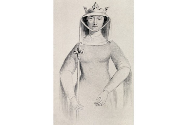 Illustration of Isabella of France. From the book 'Our Queen Mothers' by Elizabeth Villiers. (Photo by Universal History Archive/Getty Images)