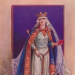 Matilda (c1031-1083) was Queen Consort of William the Conqueror. (Photo by The Print Collector/Getty Images)