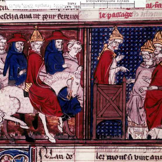 The call for the First Crusade was initially made by Pope Urban (pictured) in 1095. (Keystone-France/Gamma-Keystone via Getty Images)