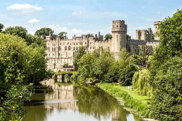 Warwick Castle. (Photo by Olaf Protze/LightRocket via Getty Images)