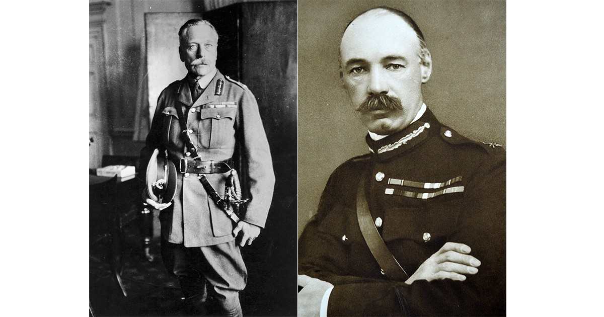General Sir Douglas Haig (left) and Sir Henry Rawlinson are largely to blame for the failure of the battle of the Somme, says historian Hugh Sebag-Montefiore. (Photos by Hulton Archive/Getty Images and Photo12/UIG via Getty Images)