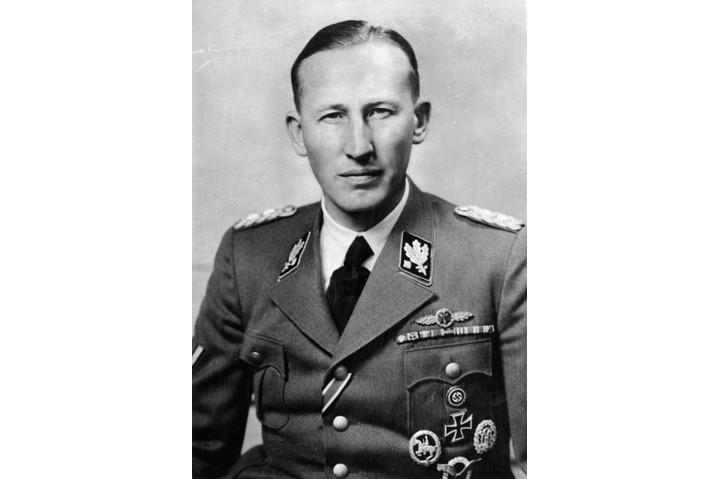 Reinhard Heydrich's brutality was shocking, even by Nazi standards. (Photo by ullstein bild/ullstein bild via Getty Images)