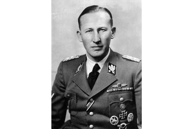 Reinhard Heydrich's brutality was shocking, even by Nazi standards. (Photo by ullstein bild/ullstein bild via Getty Images)