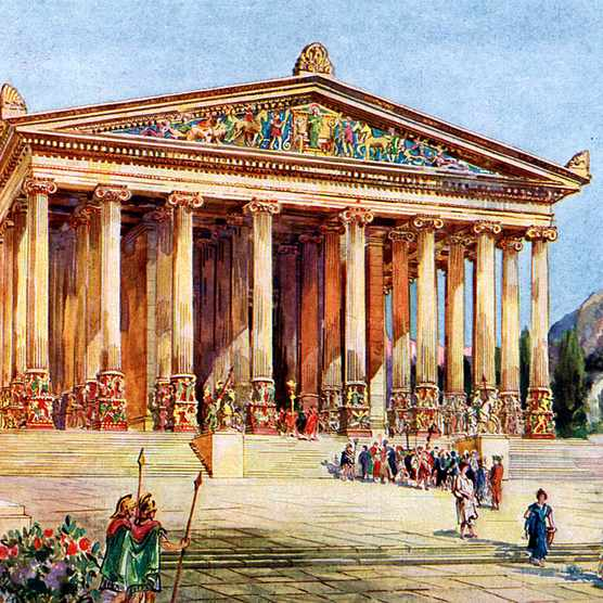 Picture of the Temple of Artemis