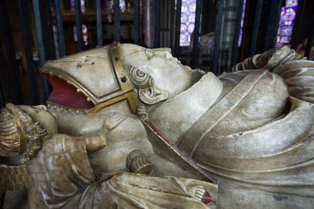 Effigy of Thomas a Becket, Archbishop of Canterbury, Canterbury Cathedral, UNESCO World Heritage Site, Canterbury, Kent, England, United Kingdom, Europe