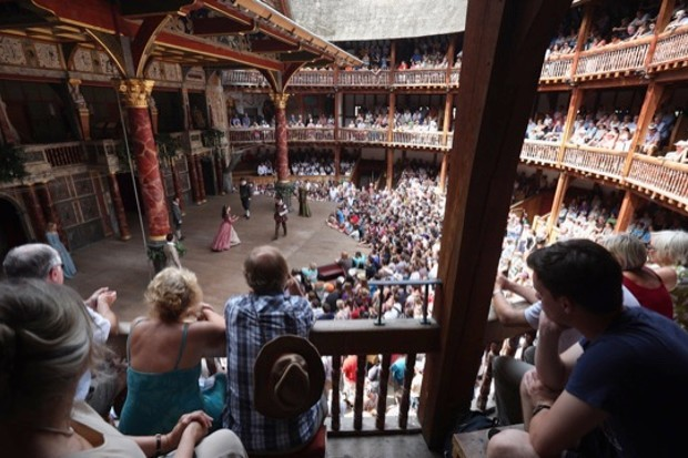 Shakespeare's Globe. (Oli Scarff/Getty Images)