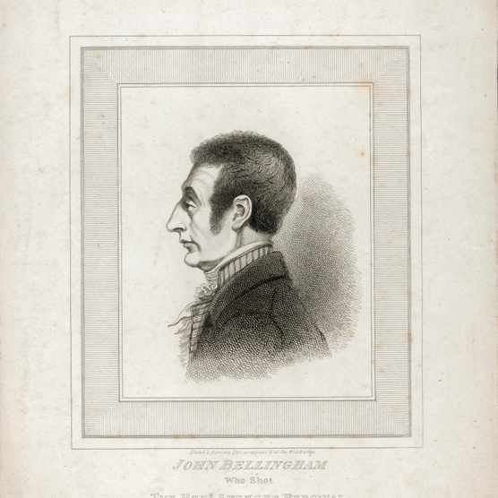 John Bellingham Who Shot the Hon. Spencer Percival Print