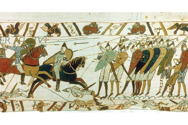 Essay Papers A Section Of The Bayeux Tapestry Depicting The Battle Of Hastings  Anglosaxon Foot How To Write Proposal Essay also Science Fiction Essay Topics What The Normans Did For Us  History Extra Essay Proposal Sample