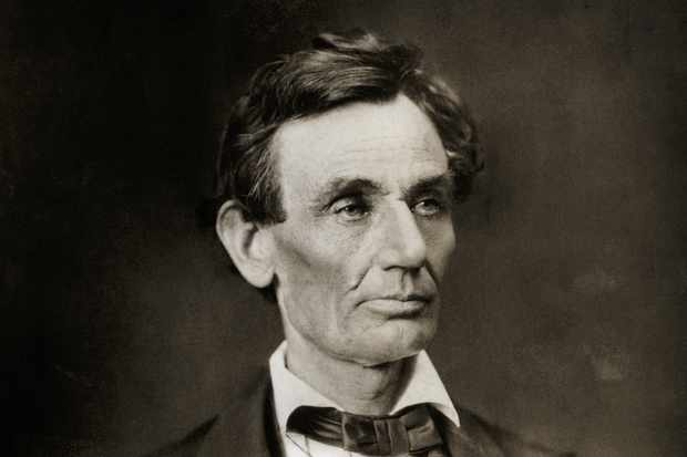 A photograph of Abraham Lincoln taken after his November 1860 election and before his March 1861 inauguration.