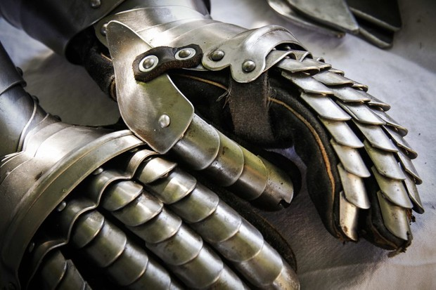 Photo of gauntlets