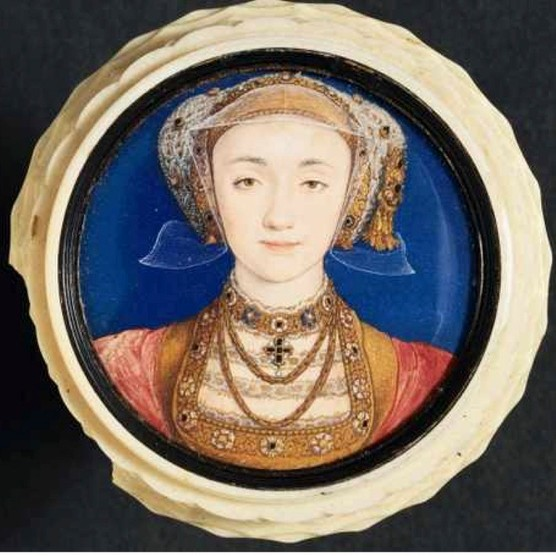 This portrait of Anne of Cleves, painted by Hans Holbein the Younger in 1539, delighted Henry VIII. Unfortunately, the king was far less impressed with his new bride when he met her in the flesh. (Photo by © Historical Picture Archive/CORBIS/Corbis via Getty Images)