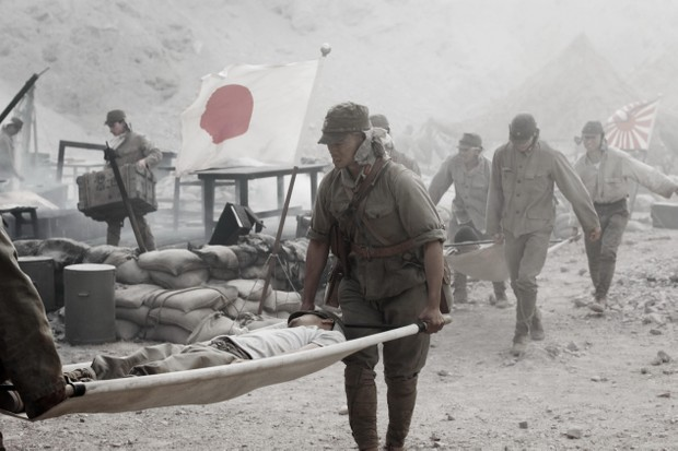 A still from 'Letters from Iwo Jima', 2006. (Photo by Entertainment Pictures)