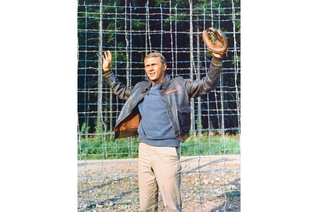 Steve McQueen in 'The Great Escape'. (Silver Screen Collection/Getty Images)