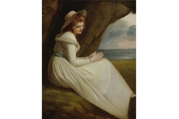 A portrait of Lady Emma Hamilton. (Photo by Fine Art Images/Heritage Images/Getty Images)