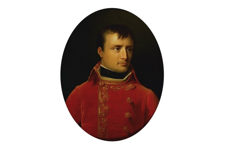 A portrait of Napoleon Bonaparte