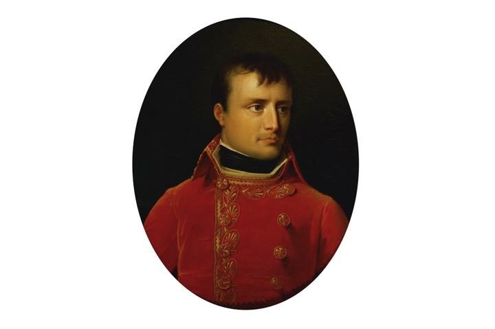A portrait of Napoleon Bonaparte