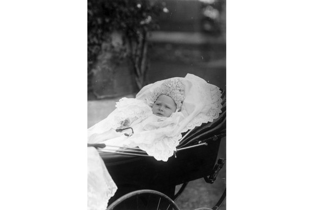 The future King George VI (1895-1952) as a baby, 1895. The name 'George' appears in the list of the top 10 boys' names both today and a century ago. (Photo by Hulton Archive/Getty Images)
