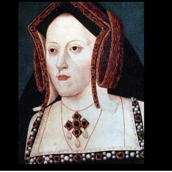 A portrait of Henry VIII's first wife, Catherine of Aragon, by an unknown artist. (Photo by Dmitri Kessel/The LIFE Picture Collection/Getty Images)