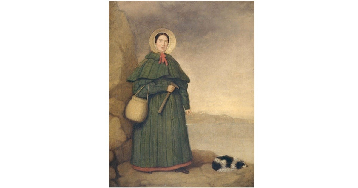 Mary Anning. (Photo by The Natural History Museum/Alamy Stock Photo)