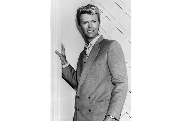 David Bowie promotes 'Let's Dance'
