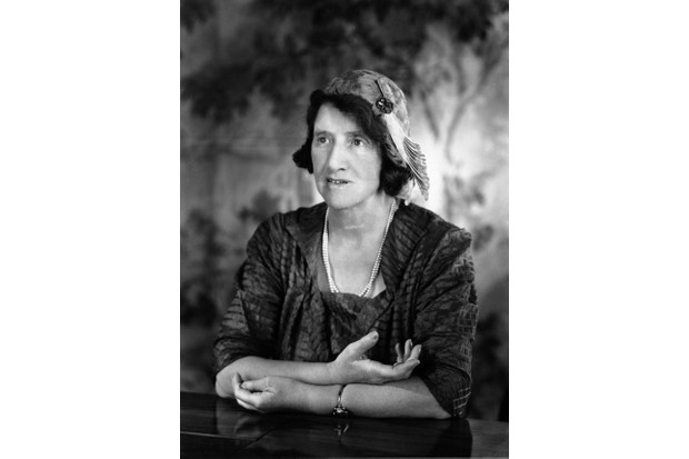 Marie Stopes was a social reformer and author of a sex manual called 'Married Love'. (Photo by © Hulton-Deutsch Collection/CORBIS/Corbis via Getty Images)