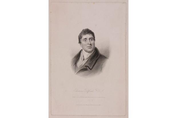 Thomas Telford FRS, Scottish civil engineer, c 1810.
