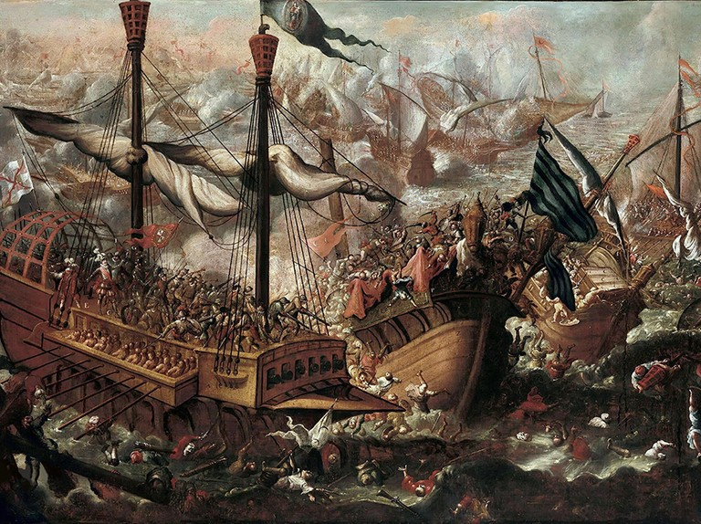 The battle of Lepanto: when Ottoman forces clashed with Christians