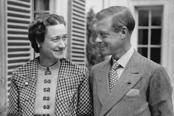 The former Edward VIII and Wallis Simpson, for whom Edward gave up the throne in 1936, sparking a crisis that rocked the British monarchy. The couple are pictured here in 1939. (Photo by Keystone-France\Gamma-Rapho via Getty Images)