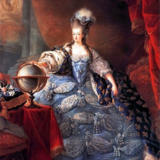 Marie Antoinette in a 1775 portrait by Jean-Baptiste Gautier Dagoty. (Universal History Archive/Getty Images)