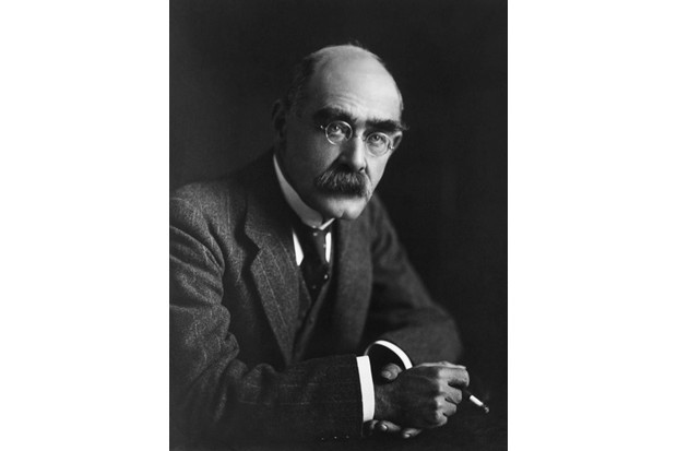Rudyard Kipling, whose son John went missing in action during the First World War. (Getty Images)