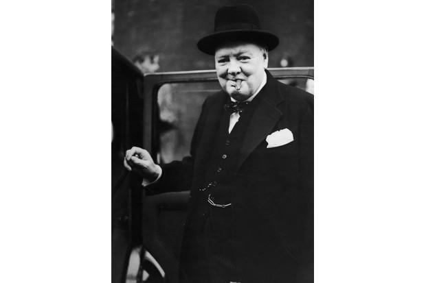 Churchill resigns