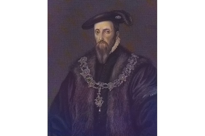 Portrait of Edward Seymour, Duke of Somerset and Lord Protector of England, 1535. From the New York Public Library. (Photo via Smith Collection/Gado/Getty Images)