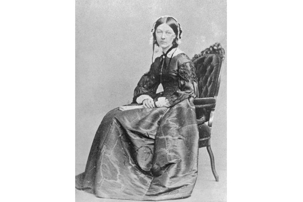 A portrait of Florence Nightingale
