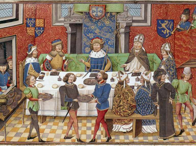 How to throw a medieval feast