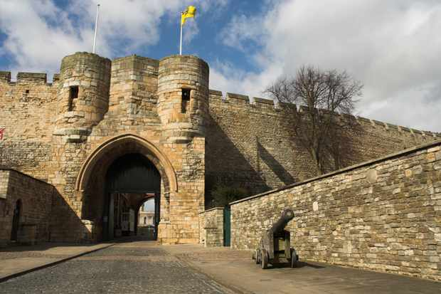 Entrance to Lincoln Castle. (Dreamstime)