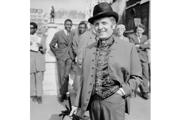 Leo Abse in 1965. Abse introduced the bill to reform the law on homosexuality. (Getty Images)