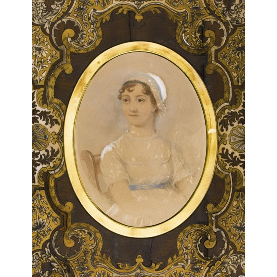 Portrait of Jane Austen (1775-1817). Private Collection. (Photo by Fine Art Images/Heritage Images/Getty Images)