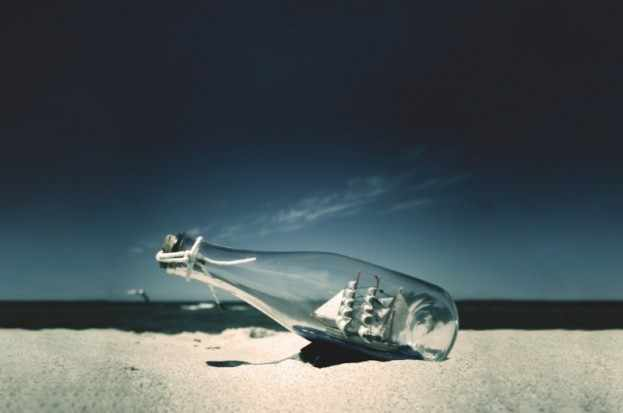 Ship in a bottle (Dreamstime)