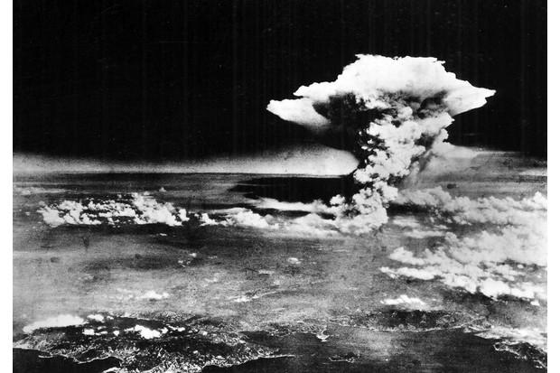 An aerial view of Hiroshima
