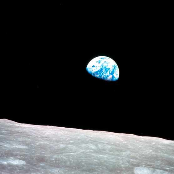 Earthrise - Apollo 8?, 29 December 1968.