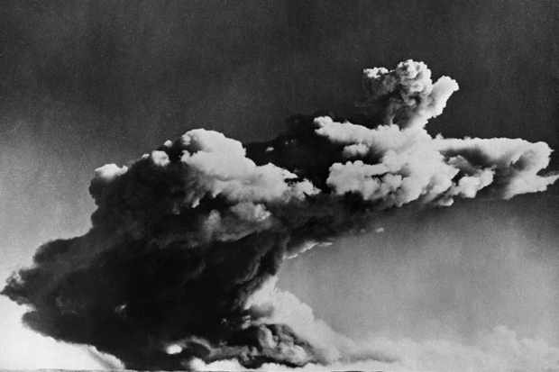 Nuclear bomb test. (OFF/AFP/Getty Images)