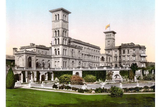 Osborne House, Isle of Wight. (Photo by Universal History Archive/UIG via Getty Images)