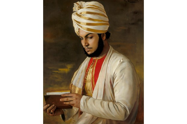 Abdul Karim, aka 'The Munshi', Indian confidant to Queen Victoria, painted by Rudolf Swoboda in 1888. (Getty Images)
