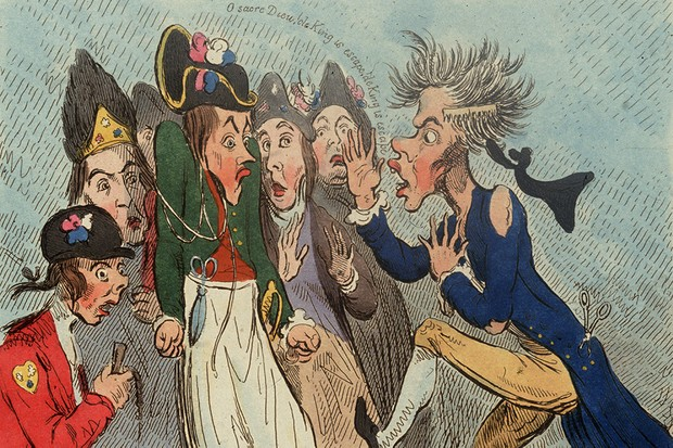 """An 18th Century cartoon satirises reactions to Louis XVI's attempt tp flee France. The french Revolution shows what can happen when the state fails on a catastrophic scale"""", argues Marisa Linton (Hulton Archive/Getty Images)"""